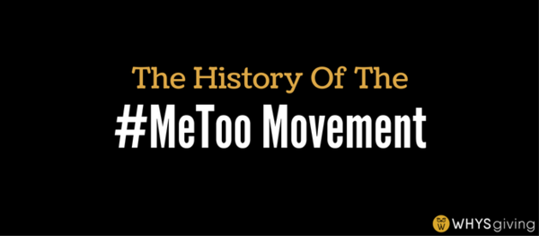 The History of the #MeToo Movement