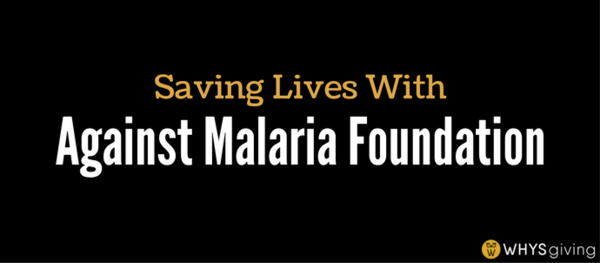 Saving Lives with Against Malaria Foundation