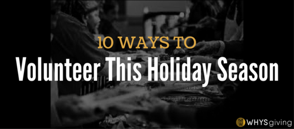 10 Ways to Volunteer During the Holidays